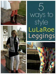5 Ways to Style LuLaRoe Outfits
