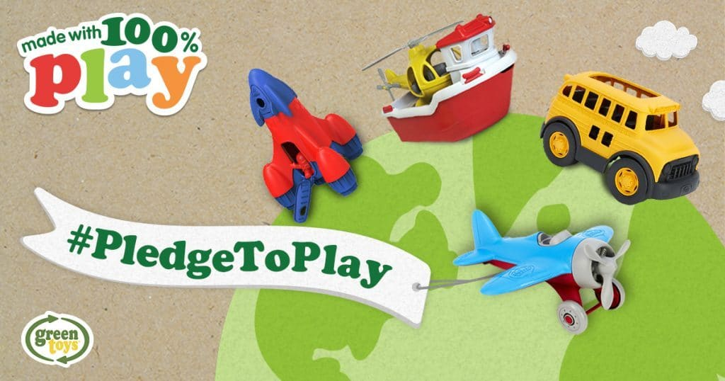 Green Toys #PledgeToPlay