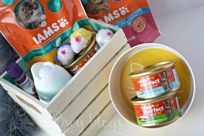 Cat Gifts Basket Supplies