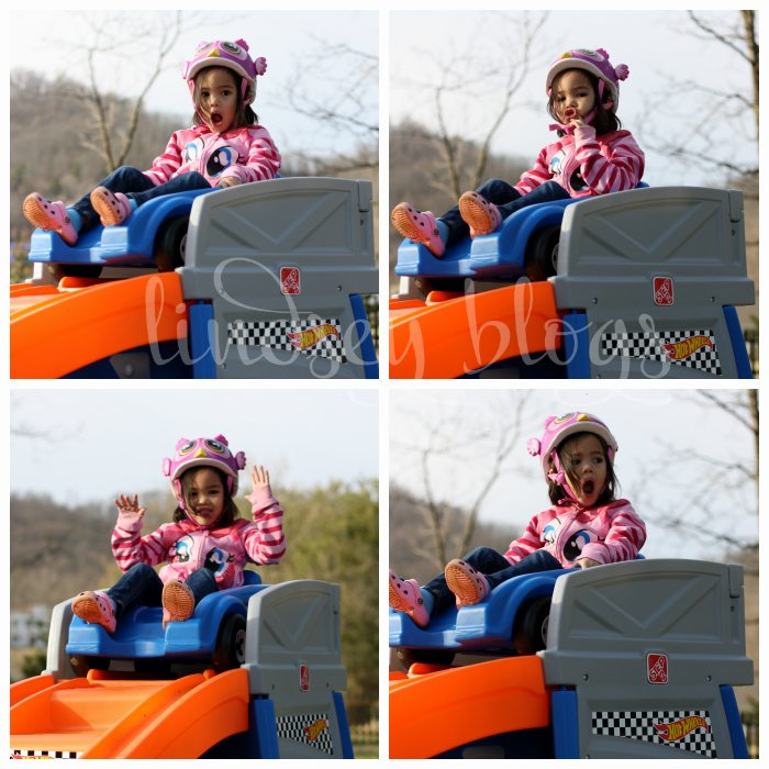 Faces of Kids Roller Coaster