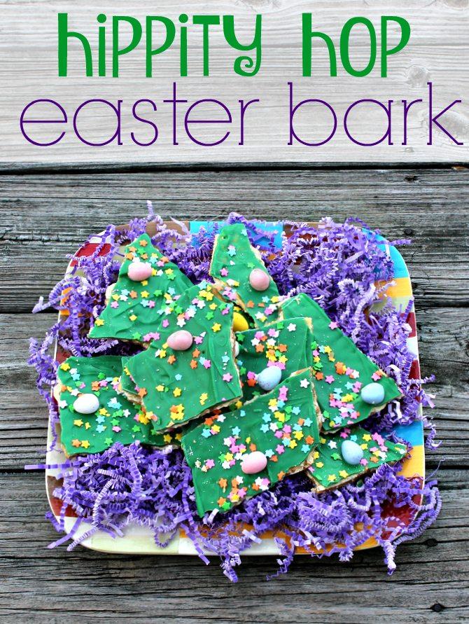Hippity Hop Easter Bark Pin