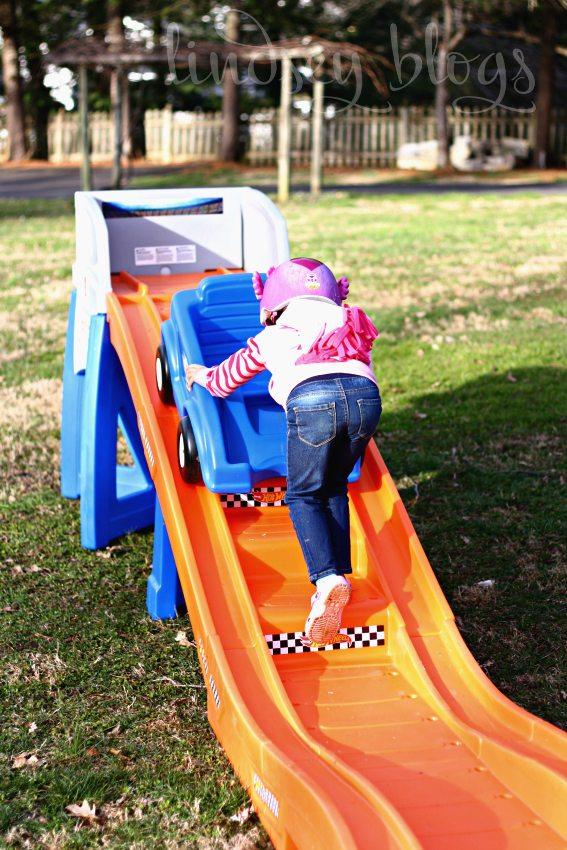 Pushing Kids Roller Coaster