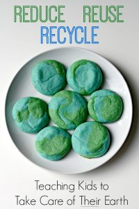 Reduce Reuse Recycle – Teaching Kids to Take Care of Their Earth