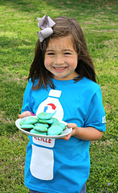 Sharing Earth Day Cookies