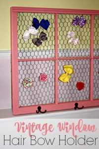 Vintage Window Hair Bow Holder [+ Win the Ace Hardware $10,000 Sweepstakes!]