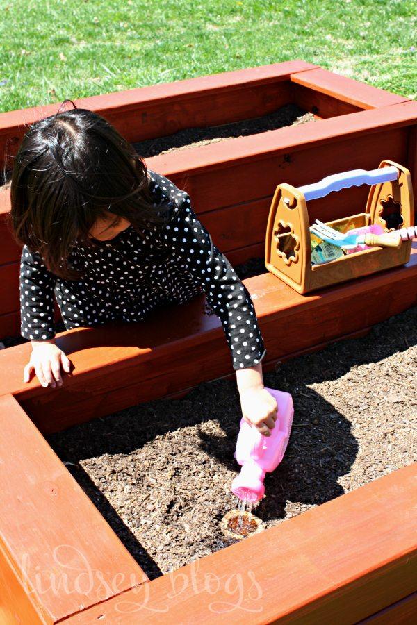 Watering Kids Garden