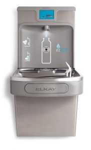 Drink More Water with ezH20 Bottle Filling Stations by Elkay