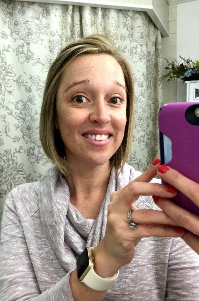 Bathroom Selfie Fair Complexion