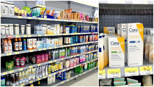 CeraVe Sunscreen at Walmart