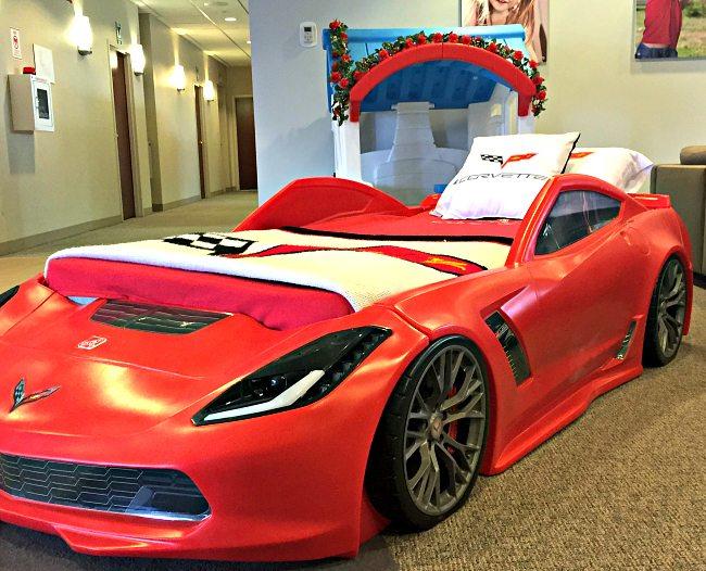 ... Step2 Corvette Bed ...