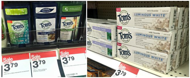 Toms of Maine Made to Matter Target