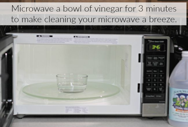 Vinegar Uses Microwave