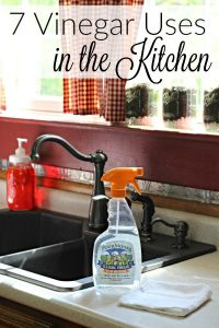 Vinegar Uses in Kitchen