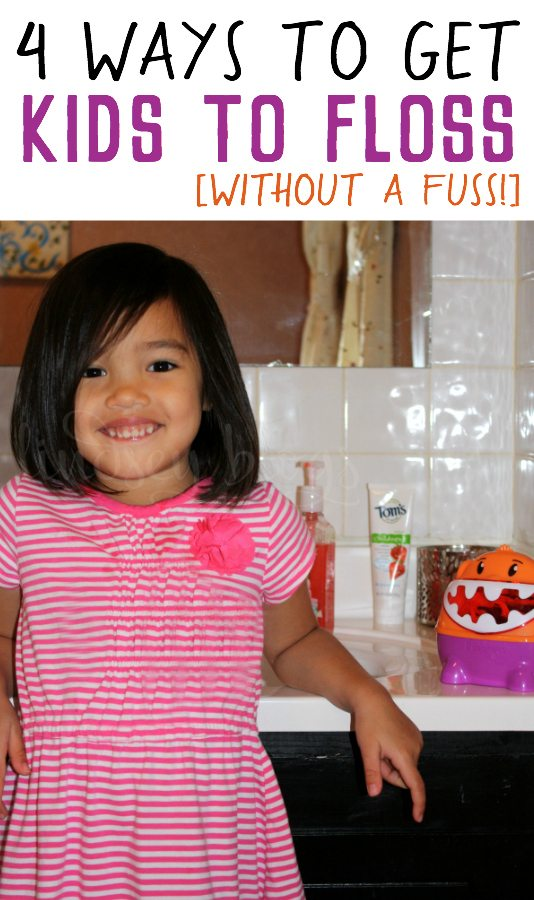 Ways to Get Kids to Floss