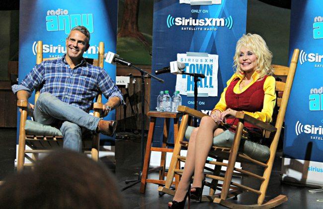 Dolly Parton Andy Cohen