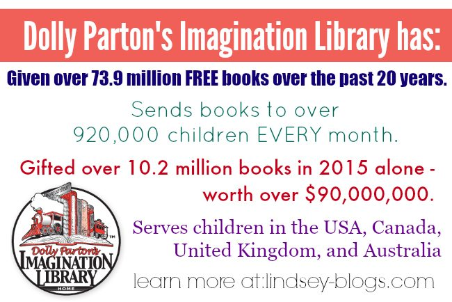 Dolly Parton Imagination Library Facts