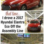 Hyundai Elantra Eco Assembly Line Pin