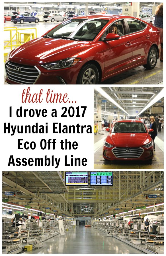 Hyundai Elantra Eco Assembly Line Pin