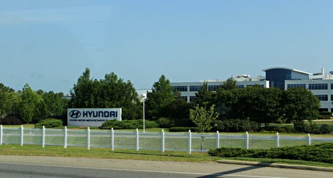 Hyundai Manufacturing Plant Alabama