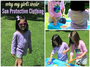 Why My Girls Wear Sun Protective Clothing