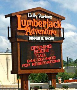 Dolly Parton's Lumberjack Adventure Opening this Weekend