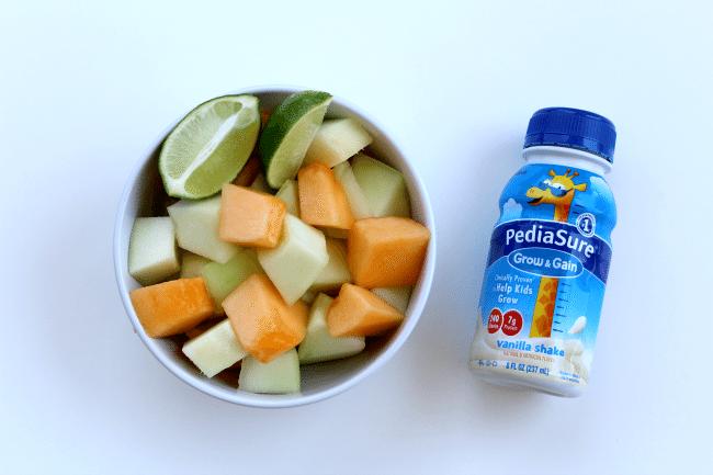 Melon Smoothie Ingredients