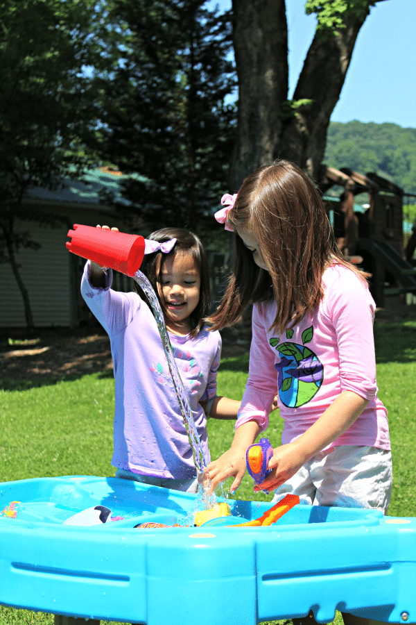 Sun Protective Clothing Water Table