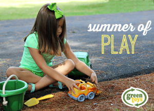 Summer of Play with Green Toys