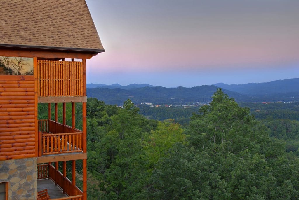 Dollywood Cabin Smoky Mountain View