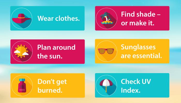 EWG Sun Safety Tips