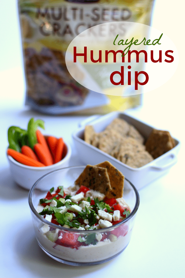 Layered Hummus Dip Pin