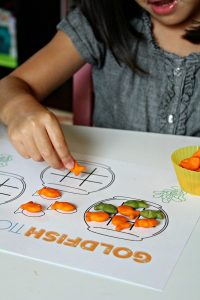 Goldfish Tic Tac Toe Games to Play with Your Kids [+ Free Printable!]