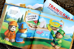 Green Toys Books Bring Children's Toys to Life