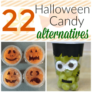 Ditch the Candy: 22 Halloween Candy Alternatives