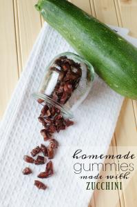 Homemade Fruit Snacks [made with Zucchini!?!]