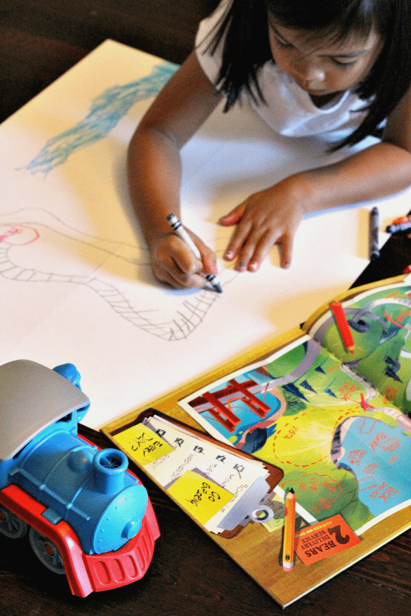 making-map-for-green-toys-train