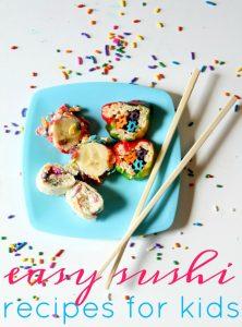 Rainbow Kids Sushi