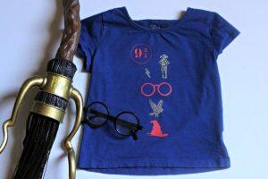 DIY Harry Potter T Shirts for Kids