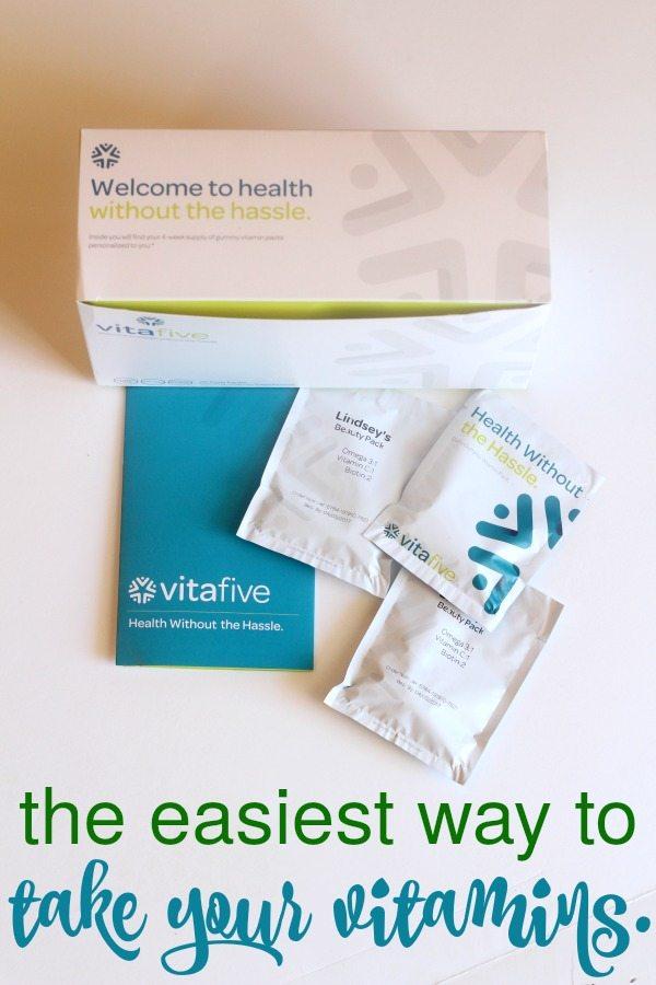 vitafive gummy vitamins for adults