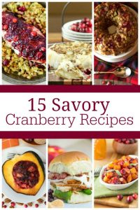 15 Cranberry Recipes for Thanksgiving
