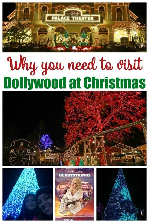 Dollywood Christmas lights