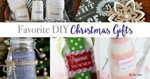 Favorite DIY Christmas Gifts