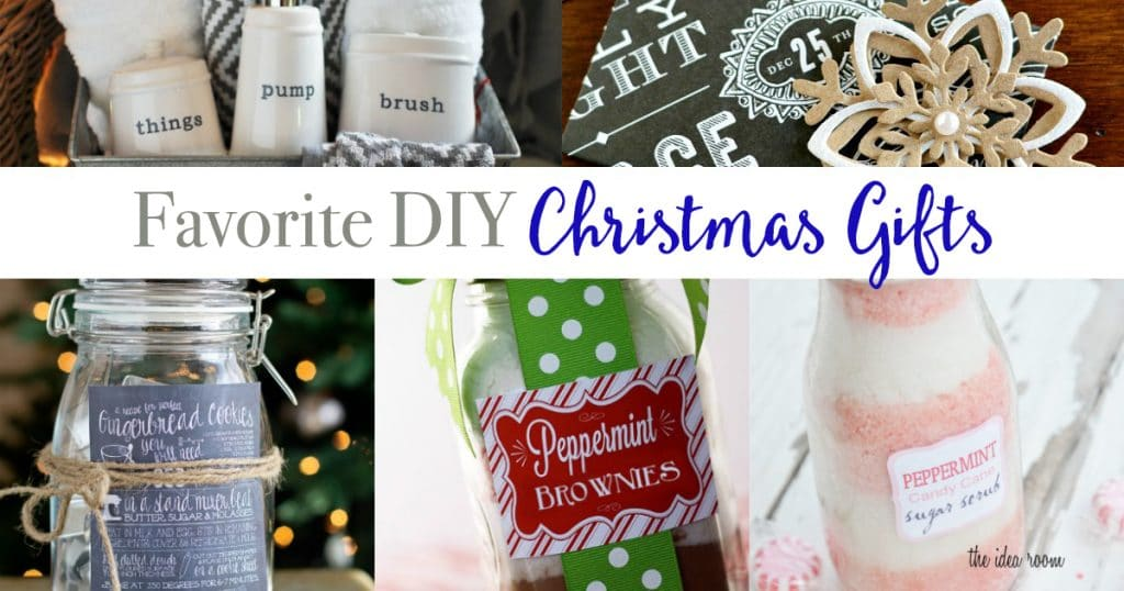 Favorite DIY Christmas Gifts