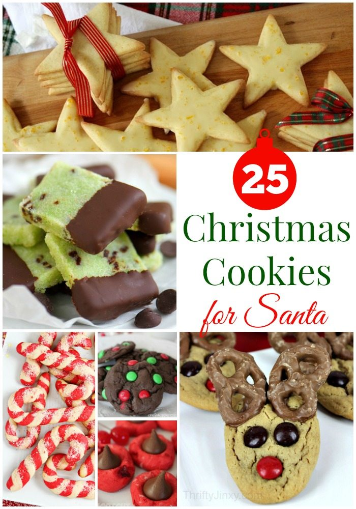 Christmas cookies recipes for santa