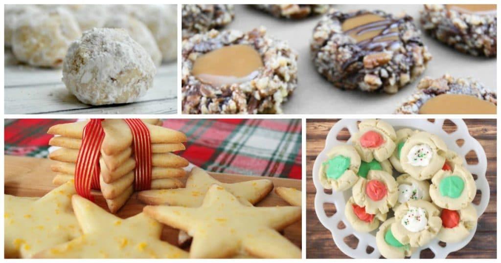 25 Christmas Cookies for Santa