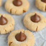 Peanut Butter Kissess Cookies