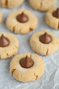 Peanut Butter Kisses Cookies
