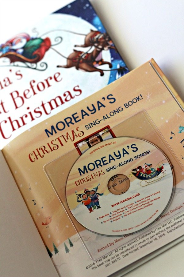 both of my girls love to sing but moreaya has become especially fond of singing christmas songs over the past few weeks i knew she would just love seeing
