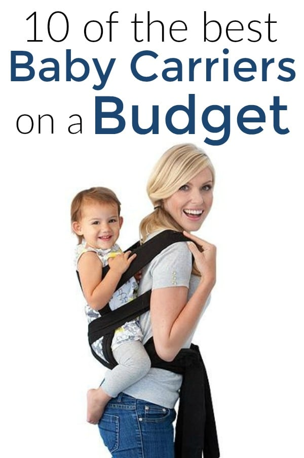 the best cheap baby carriers for people on a budget
