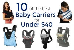10 of the Best Baby Carriers Under $40